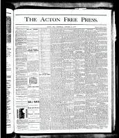 Acton Free Press (Acton, ON), October 18, 1877