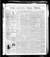 Acton Free Press (Acton, ON), October 25, 1877