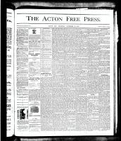 Acton Free Press (Acton, ON)22 Nov 1877