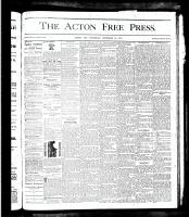 Acton Free Press (Acton, ON)20 Dec 1877