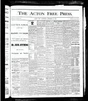 Acton Free Press (Acton, ON)27 Dec 1877