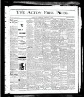 Acton Free Press (Acton, ON), February 14, 1878