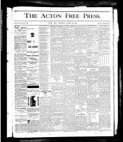 Acton Free Press (Acton, ON), March 28, 1878