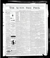Acton Free Press (Acton, ON), April 25, 1878