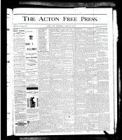 Acton Free Press (Acton, ON), April 25, 1878