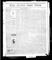 Acton Free Press (Acton, ON), May 9, 1878