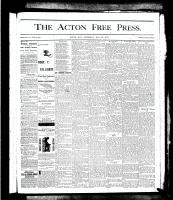 Acton Free Press (Acton, ON), May 30, 1878