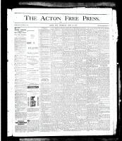 Acton Free Press (Acton, ON), June 13, 1878