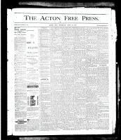 Acton Free Press (Acton, ON), June 13, 1878