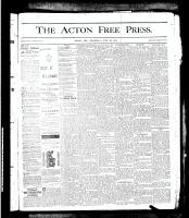 Acton Free Press (Acton, ON), June 20, 1878
