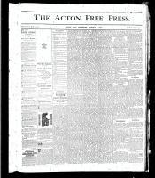 Acton Free Press (Acton, ON), August 8, 1878