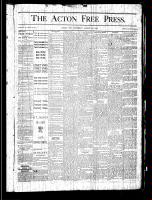 Acton Free Press (Acton, ON), August 29, 1878