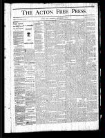 Acton Free Press (Acton, ON), September 26, 1878