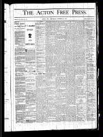 Acton Free Press (Acton, ON), October 24, 1878