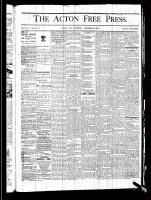 Acton Free Press (Acton, ON), December 19, 1878