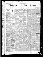 Acton Free Press (Acton, ON), December 19, 1878