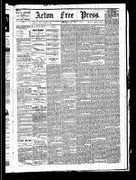 Acton Free Press (Acton, ON)8 May 1879