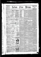 Acton Free Press (Acton, ON)25 Dec 1879