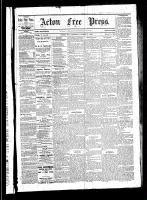 Acton Free Press (Acton, ON)11 Mar 1880
