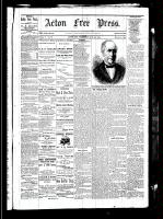 Acton Free Press (Acton, ON)20 May 1880