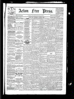 Acton Free Press (Acton, ON), August 12, 1880