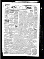 Acton Free Press (Acton, ON), Spetember 2, 1880