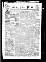 Acton Free Press (Acton, ON), September 9, 1880