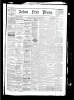Acton Free Press (Acton, ON), September 23, 1880