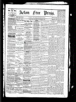 Acton Free Press (Acton, ON), October 21, 1880