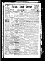 Acton Free Press (Acton, ON), October 28, 1880