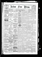 Acton Free Press (Acton, ON), November 4, 1880