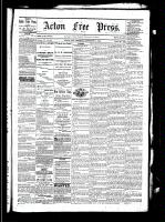 Acton Free Press (Acton, ON), November 11, 1880
