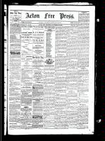 Acton Free Press (Acton, ON), November 18, 1880