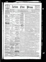 Acton Free Press (Acton, ON), November 25, 1880