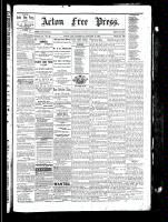 Acton Free Press (Acton, ON), January 13, 1881