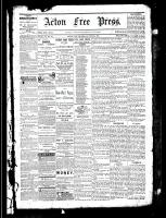 Acton Free Press (Acton, ON), June 30, 1881