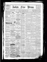 Acton Free Press (Acton, ON), July 21, 1881