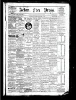 Acton Free Press (Acton, ON), August 4, 1881
