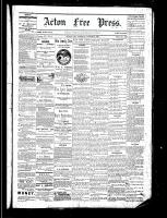 Acton Free Press (Acton, ON), August 11, 1881