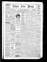 Acton Free Press (Acton, ON), September 1, 1881