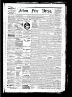 Acton Free Press (Acton, ON), September 22, 1881