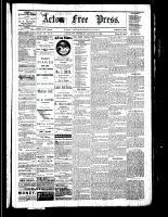 Acton Free Press (Acton, ON), January 12, 1882