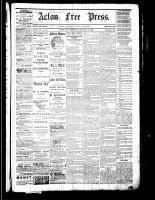 Acton Free Press (Acton, ON), January 19, 1882