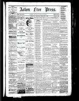 Acton Free Press (Acton, ON), February 2, 1882