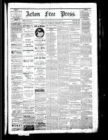 Acton Free Press (Acton, ON), February 9, 1882
