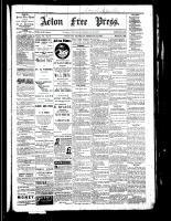 Acton Free Press (Acton, ON), February 16, 1882