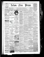 Acton Free Press (Acton, ON), February 23, 1882