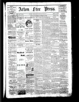 Acton Free Press (Acton, ON), March 23, 1882