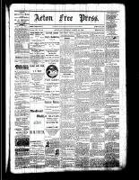 Acton Free Press (Acton, ON), March 30, 1882