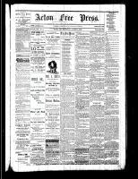 Acton Free Press (Acton, ON), August 3, 1882